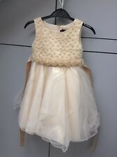 Girls Dress Kids Sleeveless Party Fit Dresses Ages 4-5