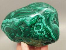 Polished Malachite Specimen Decorator Rock Africa Green Stone #3