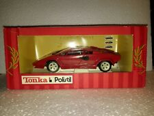 Tonka Polistil 1/16 - Lamborghini countach rouge