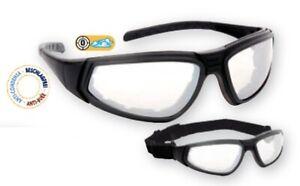 Schutzbrille Flylux Schwarz/Farblos Anti-Beschlag