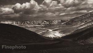 1925 Vintage DESERT Of JUDAH Clouds Landscape ISRAEL Palestine Religion Photo