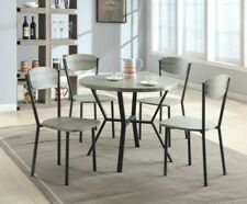 Model 1230 Round Dining Table Set Manufactured By Crown Mark Importers