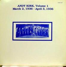ANDY KIRK volume 1 march 2 - april 3 1936 LP Mint- AJAZZ 457 Vinyl  Record
