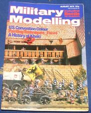 MILITARY MODELLING AUGUST 1979 - U.S.CONVENTION COLOUR/A HISTORY OF KHAKI