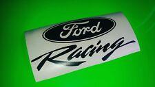 FORD Racing cool car, bumper, window sticker/decal