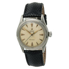 Rolex Brevet 6482 Mens Automatic Vintage Year 1939 Watch Cream Dial SS 34mm