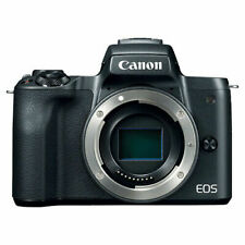 Canon EOS M50 Mirrorless Digital Camera Body Only (Black)