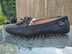 Ugg Serena Loafer.  UK Size 5. Black Leather