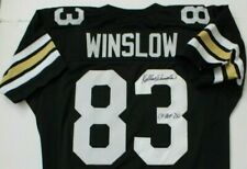 Kellen Winslow Missouri Tigers CHOF Autographed Signed Jersey Engraved Nameplate