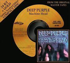 DEEP PURPLE - Machine Head - 24k GOLD CD Audio Fidelity NEW Audiophile AFZ dcc