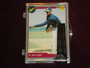 Classic Limited Edition Baseball Draft Picks Card Set (1991) NEW