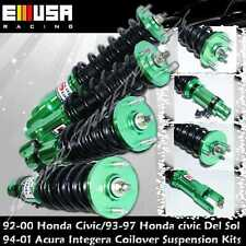 94-01 Acura Integra 92-00 Civic Full Coilover Suspension Kits NON-Adj Damper