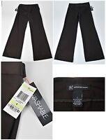 Women's INC Size 4 Dark Brown Business Casual Stretch Dress Pants 32x33