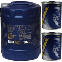 10L MANNOL TS-3 SHPD 10W-40 API CH-4/CG-4/CF-4/SL Motorspülung Motor Flush
