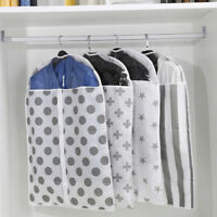 GN- CLOTHES GARMENT SUIT DRESS COVER TRAVEL CARRIER COAT HANGING STORAGE BAG OPU