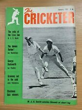 MAR 1966 THE CRICKETER MAGAZINE - D J INSOLE CHAIRMAN OF THE SELECTORS