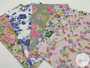 Decopatch Paper, Decoupage Paper FLORAL**5 Full Size** Collection Pack No2