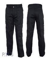 """Uneek Mens Cargo Trousers Work Wear Pants - Waist Sizes 28"""" - 52"""" (UC902)"""