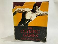 The Olympic Games - Melbourne 1956 commemorative book colour/bw photos & facts