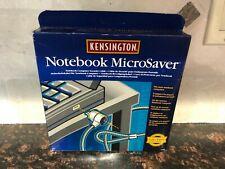 Kensington MicroSaver Notebook Lock Laptop Security Cable 64068 NEW