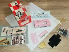 """1:43 Starter-Porsche 962c Italiya """"le mans 1990"""" #43 --- lacados --- Pink"""