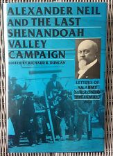 Civil War Book LAST SHENANDOAH VALLEY CAMPAIGN Army Surgeon Letters to Family