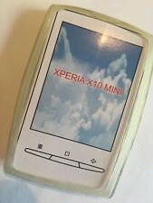 Sony Ericsson Xperia X10 Mini TPU Jelly Case JCSEX10MINICS-A in Clear. Brand New