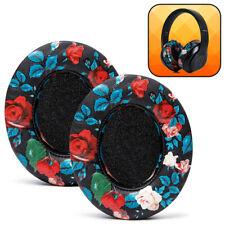 Beats Studio Replacement Ear Pads - Fits Beats Studio 3 / Studio 2- Black Floral