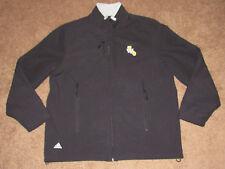 Men's ADIDAS Golden State Warriors Alternate Logo Black Softshell Jacket sz L