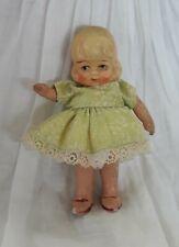 """Bisque Antique """"Foreign"""" miniature Doll German/Japan?  9.5cm"""