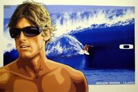 OAKLEY 2007 BRUCE IRONS HIJINX SURF poster HUGE New Old Stock Flawless condition