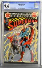 SUPERMAN #254 CGC 9.6 Curt Swan Neal Adams M Anderson art 1972 2nd HIGHEST GRADE