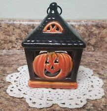 Yankee Candle~Halloween  Pumpkin Tealight Lantern~Ronnie Walter