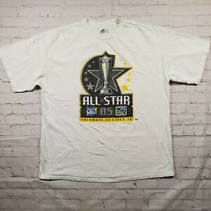 Vintage 2005 MLS All Star Game Shirt Columbus Crew Adidas Men's XL