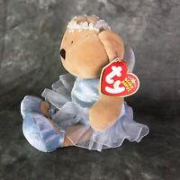Ty Beanie Babies Fairydust Bear 2005 P.E. Pellets