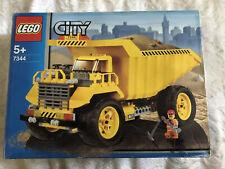 Giant Lego 7344 City Contruction Set Dump Truck. Used.