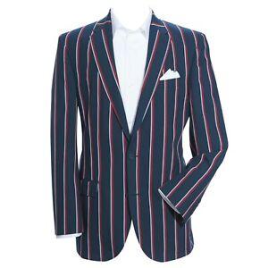"Samuel Windsor Mens Boating Blazer Jacket Smart Casual Wear Clothing 38-52"" NEW"