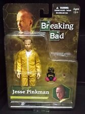 "Breaking Bad JESSE PINKMAN Yellow Hazmat 6"" Mezco Figure New! Aaron Paul"