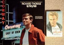 9/30/55 - LEONARD ROSEMAN - MCA - LP SOUNDTRACK + JAMES DEAN STORY PAPERBACK