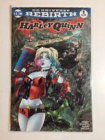 "DC Comics~ Harley Quinn~ DC Rebirth #1~""Rodman Comics Variant Cover""~2016~NM+"