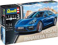 Revell Rev07034 Porsche Panamera Turbo 1 24 modelismo