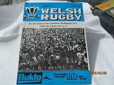Welsh Rugby Magazine. August 1977