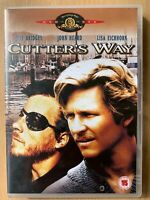 Cutter's Way DVD 1981 Cult Crime Drama Classic w/ Jeff Bridges and John Heard
