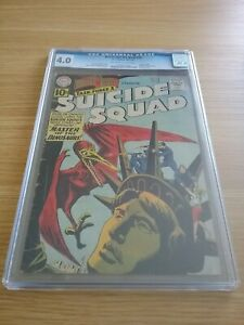 1961 DC Comic THE BRAVE & THE BOLD 38 - SUICIDE SQUAD CGC 4.0 Post Free UK