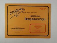 "White Ace United States Christmas Seals Supplement ""CS-15"" 1991-92 Stamp Album"