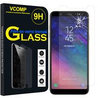 """Lot/ Pack Film Verre Trempe Protecteur pour Samsung Galaxy A6 (2018) 5.6"""""""