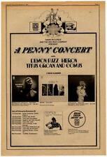 Demon Fuzz Heron Titus Groan Comus Tour advert 1970