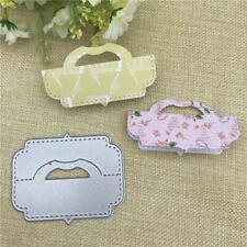 gift card pack bag topper head handle Metal Cutting Dies Scrapbooking Embossing