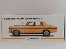 1/18 AUTOART BIANTE FORD XW FALCON GTHO PHASE II  SHELL YELLOW / BLACK STRIPES