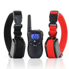 Dog Shock Training Collar with Remote Control Waterproof 4 Mode Large 1000 Yard